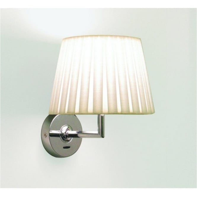 Astro Lighting Appa Single Light Switched Wall Fitting in Polished Chrome