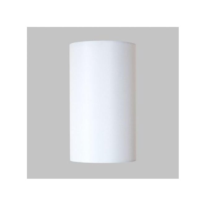 Astro Lighting Appa Solo and San Marino White Fabric Tube Shade for Wall Fitting