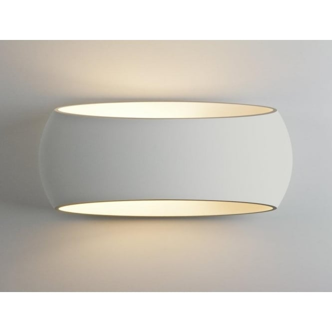 Astro Lighting Aria Single Light Large Ceramic Wall Fitting