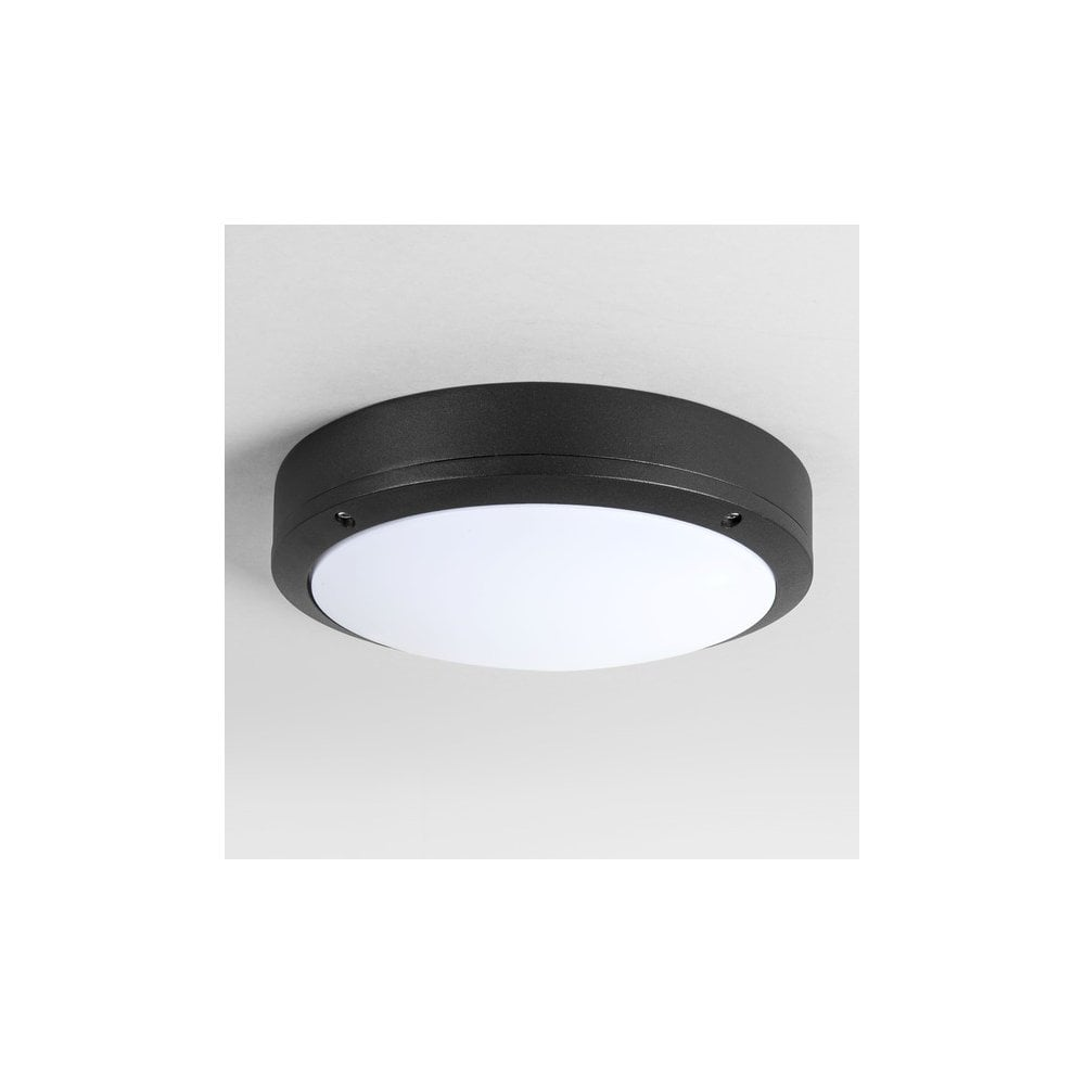 Black Finish Bathroom Lighting: Astro Lighting Arta 2 Light Outdoor/Bathroom Flush Ceiling
