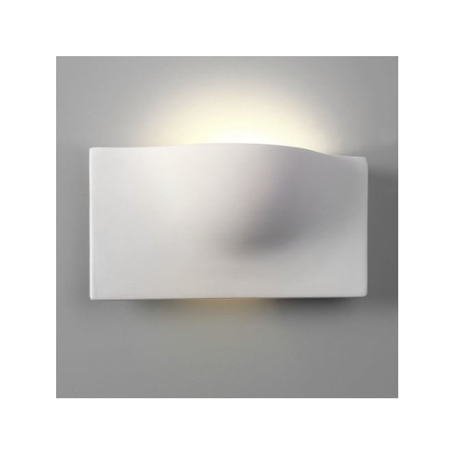 Astro Lighting Arwin Single Light Ceramic Wall Fitting In White Finish