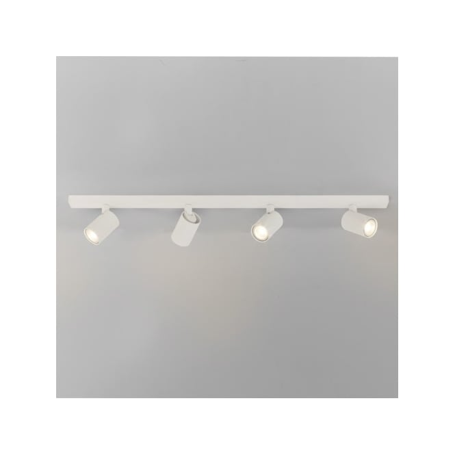 Astro Lighting Ascoli 4 Light Bar Ceiling Spotlight Fitting in White Finish