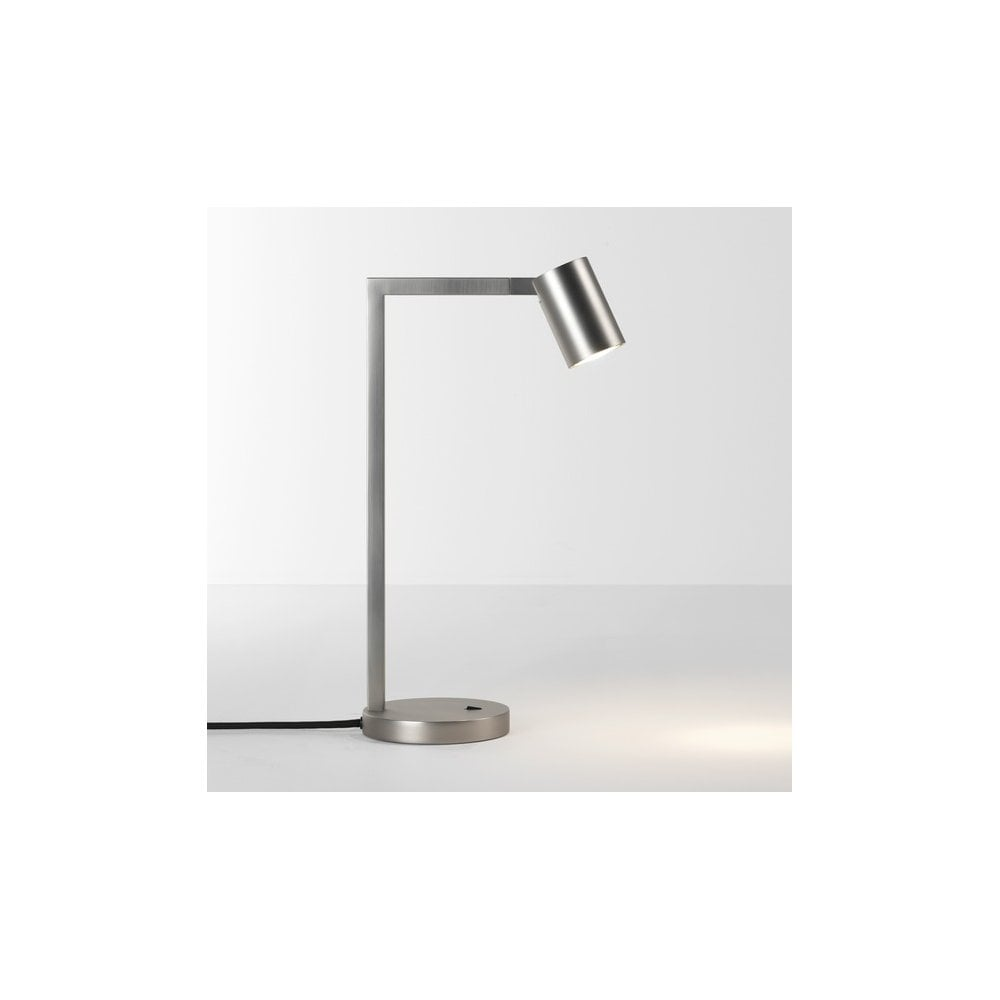 Großartig Nickel Matt Beste Wahl Ascoli Single Led Table Lamp In Finish