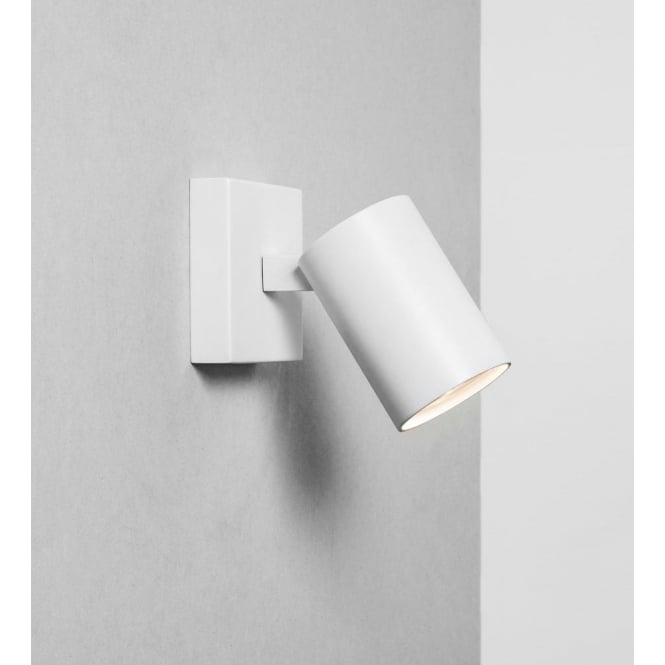 Astro Lighting Ascoli Single Light Spotlight Fitting In White Finish