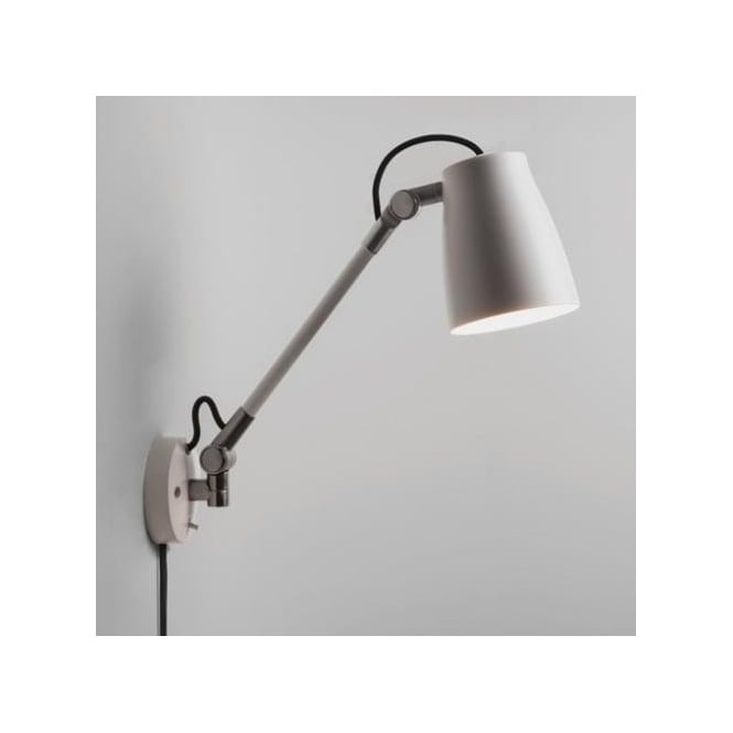 Astro Lighting Atelier Grande Single Light Switched Wall Fitting In White Finish