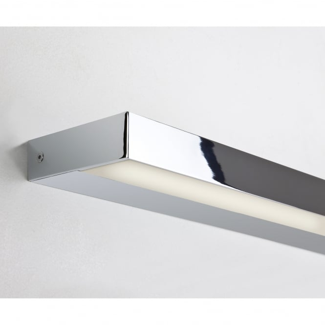 Astro Lighting Axios 600 II Single Light LED Wall Fitting in Polished Chrome finish
