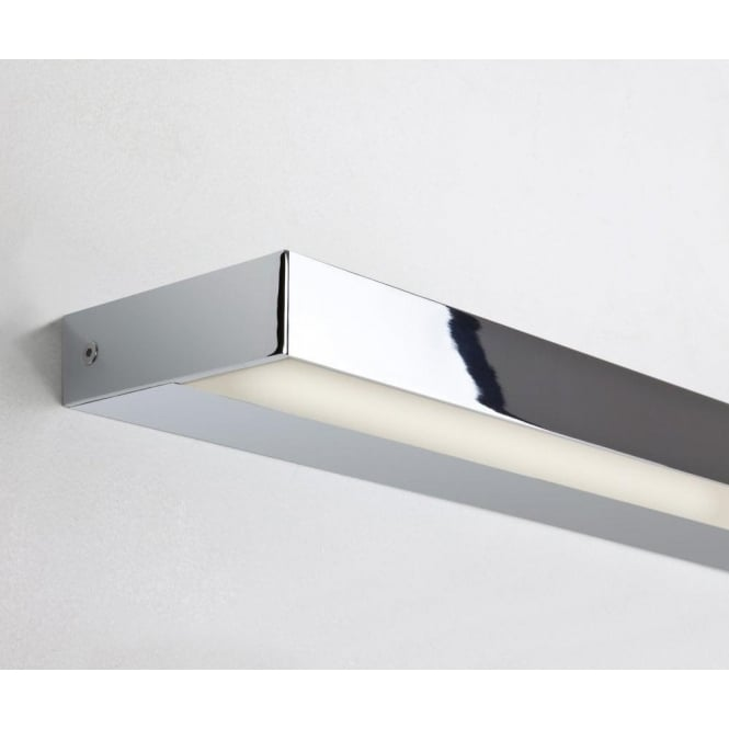 Astro Lighting Axios 900 Single Light LED Bathroom Wall Fitting in Polished Chrome Finish