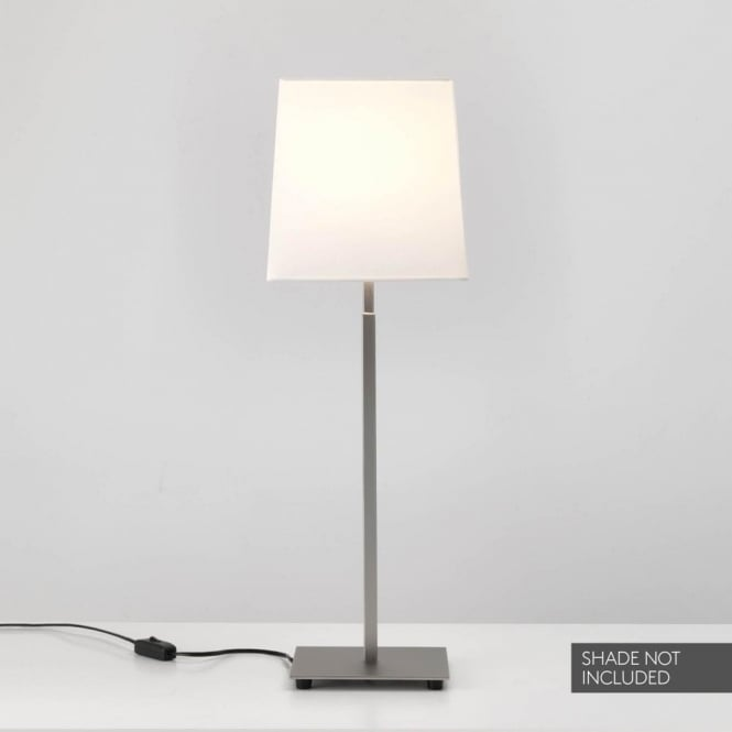 Astro Lighting Azumi 2 Light Table Lamp Base In Matt Nickel Finish
