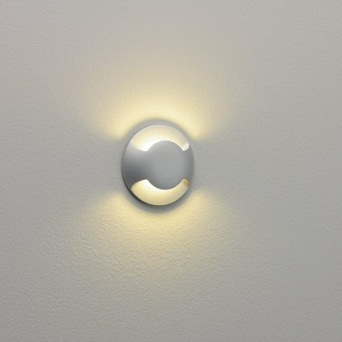 Astro Lighting Beam LED 2 Light Outdoor Wall or Ground Fitting In Painted Silver Finish