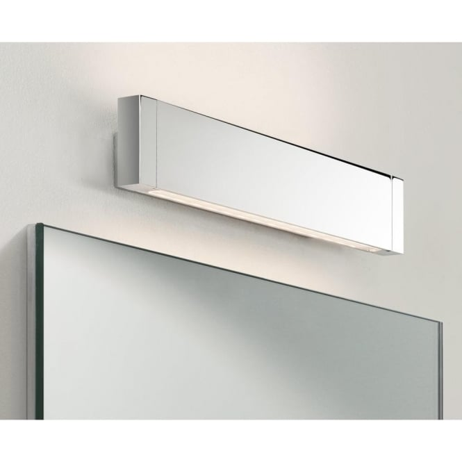 Astro Lighting Bergamo 300 Single Light LED Wall Fitting In Polished Chrome Finish