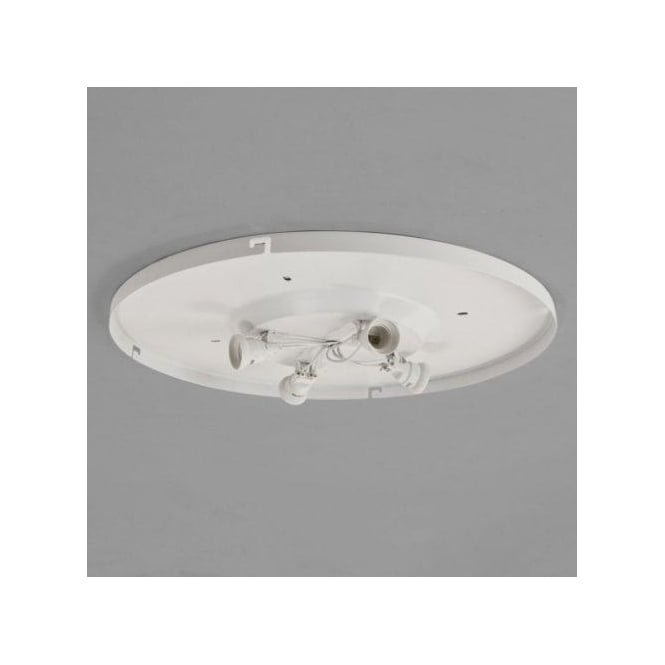 Astro Lighting Bevel 4 Way Plate In White Finish Suitable For Use With The 550 & 600 Shades
