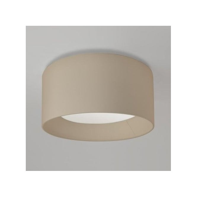 Astro Lighting Bevel Round 450 Oyster Shade For 3 Light Bevel Ceiling Fitting