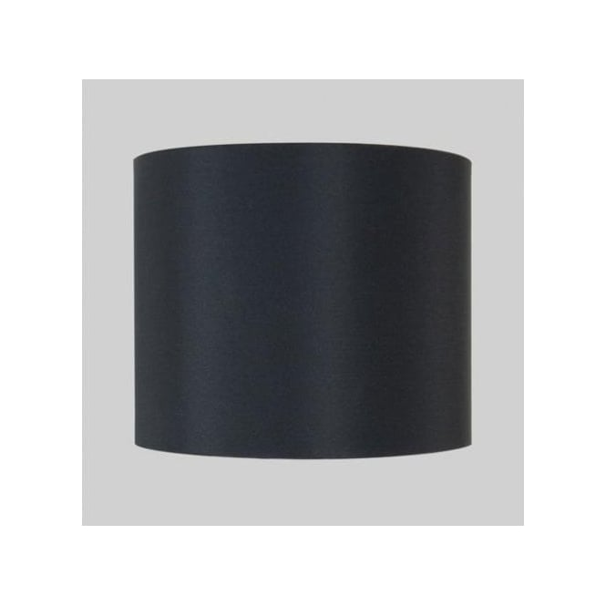 Astro Lighting Black Cylindrical Drum Shade for Appa Solo or Olan Wall Fixtures