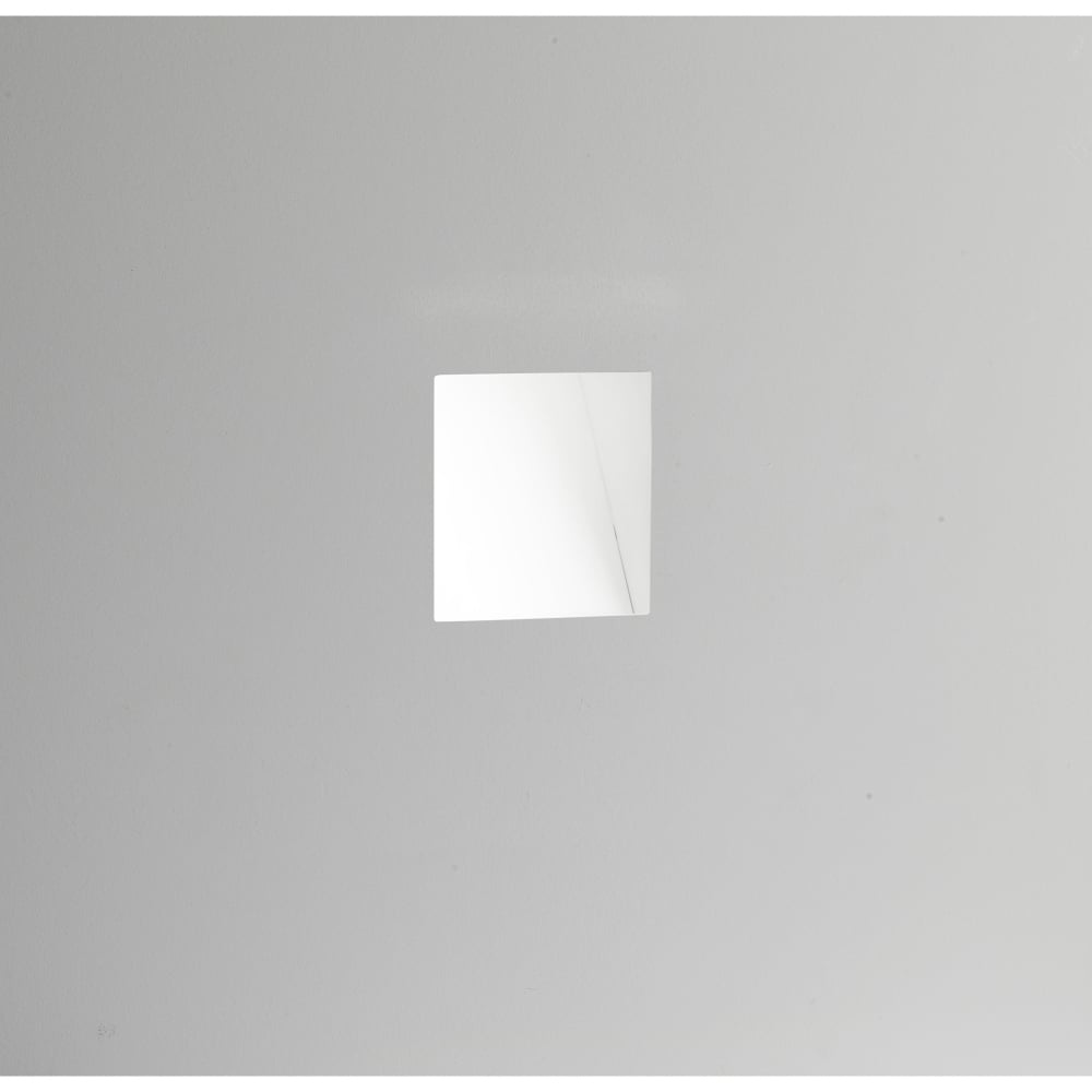 Astro Lighting Borgo 98 Single LED Trimless Recessed Wall Fitting in White Finish (3000K ...