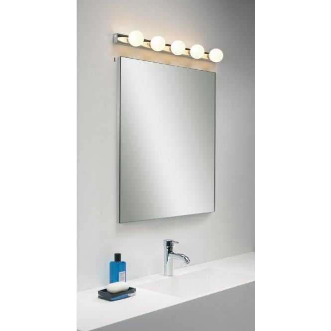 Astro Lighting Cabaret 5 Light Halogen Switched Bathroom Wall Fitting