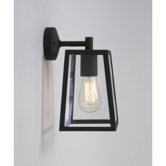 Astro Lighting Calvi Single Light Outdoor Wall Fitting in Black Finish