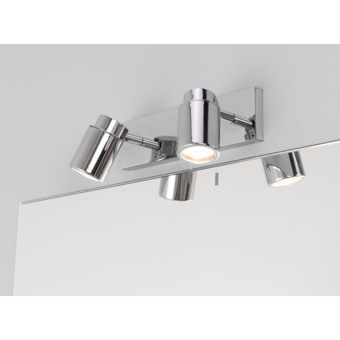 Astro Lighting Como 2 Light Switched Wall Light in Polished Chrome Finish