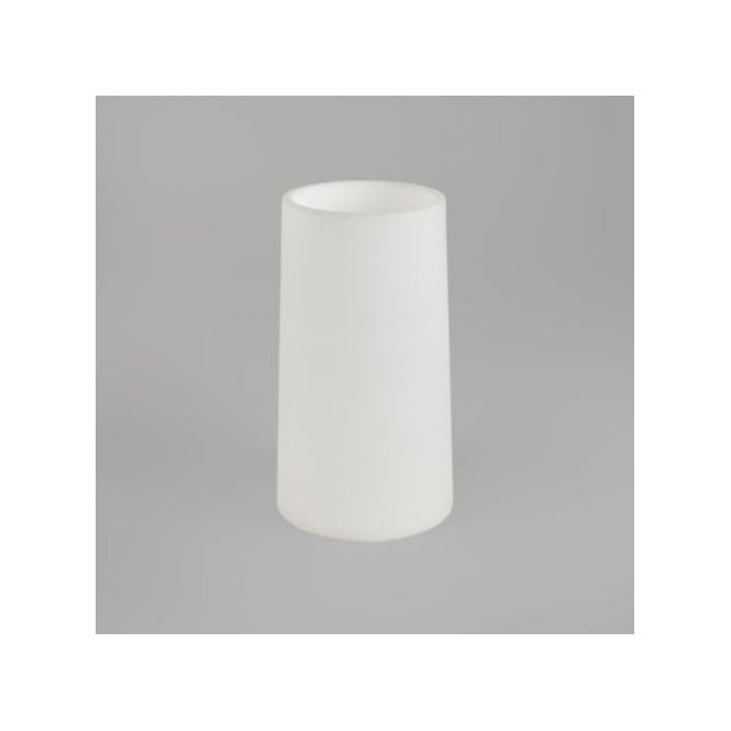 Astro Lighting Conical White Glass Shade For Riva Wall Fixture