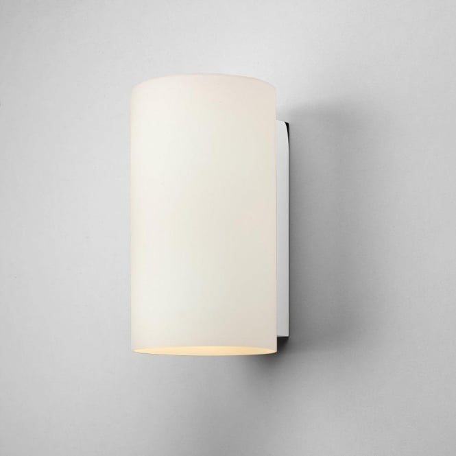 Astro Lighting Cyl 2 Light Large Wall Fitting with White Glass Shade