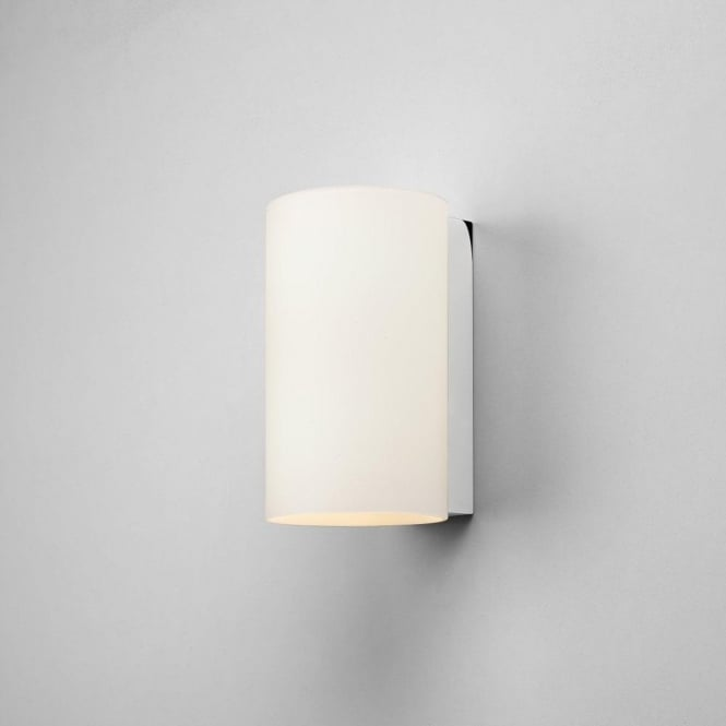 Astro Lighting Cyl 2 Light Small Wall Fitting with White Glass Shade