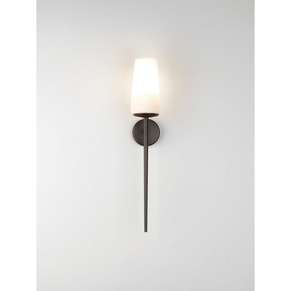 Astro Lighting Deauville Single Light Bathroom Wall Fitting In Bronze Plated Finish Lighting