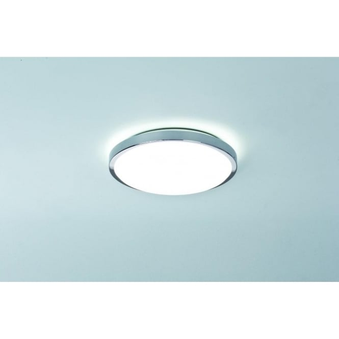 Astro Lighting Denia 2 Light Bathroom Ceiling Fitting in Polished Chrome Finish