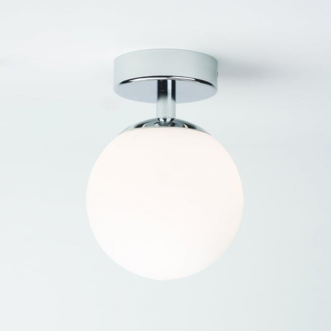 Denver single light bathroom ceiling fitting