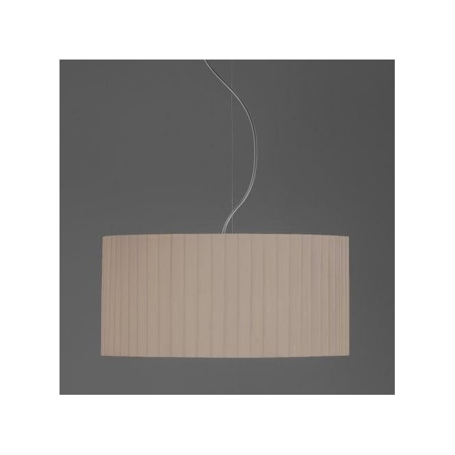 Astro Lighting Drum 500 Putty Pleated Shade For Use With Ceiling Pendants