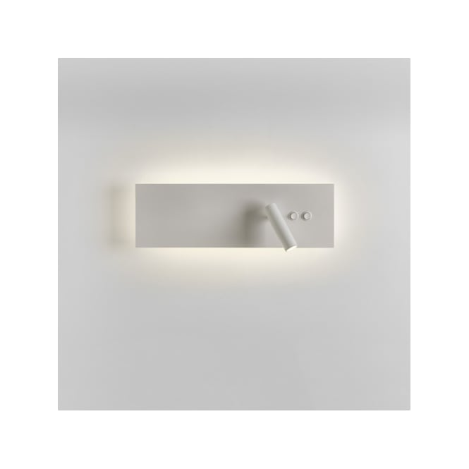 Astro Lighting Edge Reader Interior LED Switched Wall Fitting In White Finish