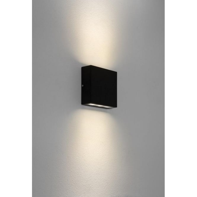 Astro Lighting Elis LED Outdoor Wall Fitting in Black Finish with Multi Directional Light