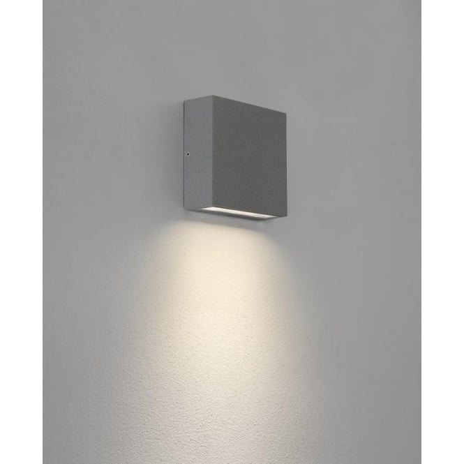 Astro Lighting Elis LED Outdoor Wall Fitting in Silver Finish