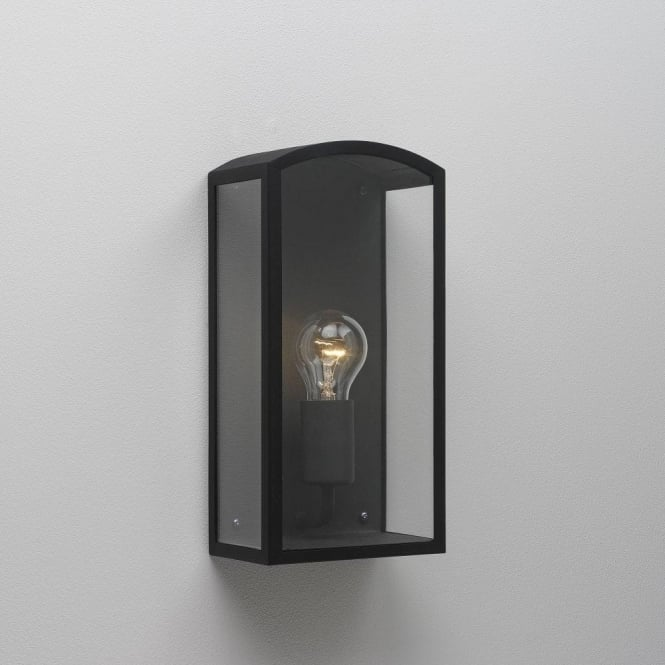Astro Lighting Emilia Single Light Outdoor Wall Fitting in Black Finish
