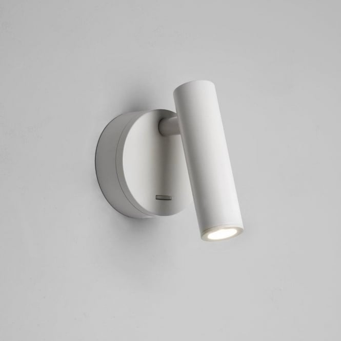 Astro Lighting Enna Surface Single Light LED Switched Wall Fitting In White Finish