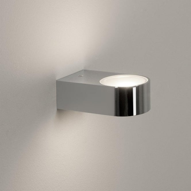 Astro Lighting Epsilon Single Light Bathroom Wall Fitting in Polished Chrome