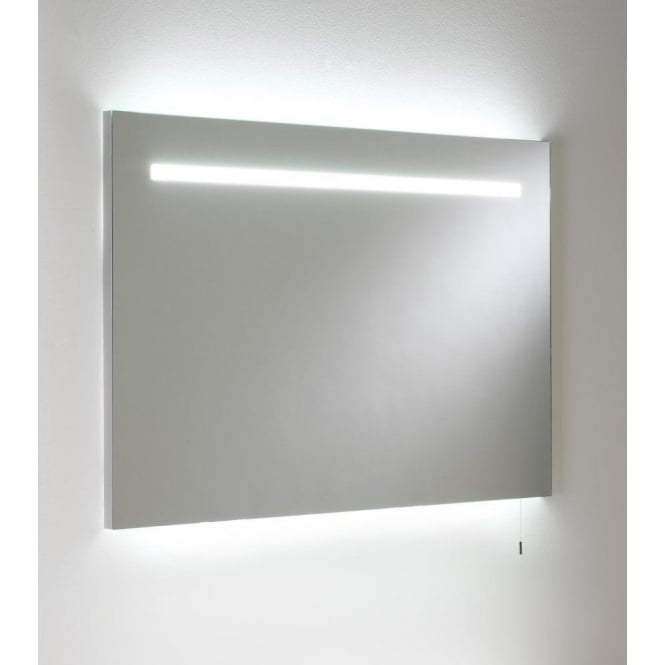 Astro Lighting Flair 900 Illuminated 2 Light Bathroom Mirror With Pull Cord Switch