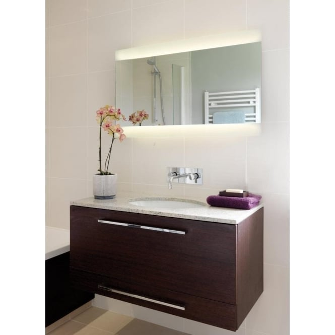 Astro Lighting Fuji Wide 950 Low Energy 2 Light Illuminated Bathroom Mirror
