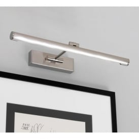 Goya 460 LED Picture Light In Brushed Nickel Finish
