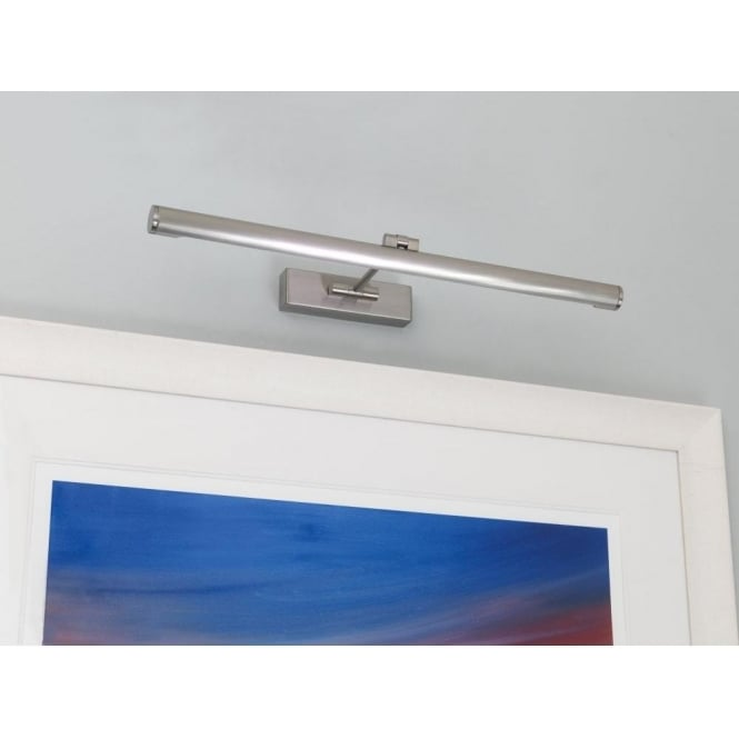 Astro Lighting Goya Single Light Low Energy Picture Light in Brushed Nickel Finish