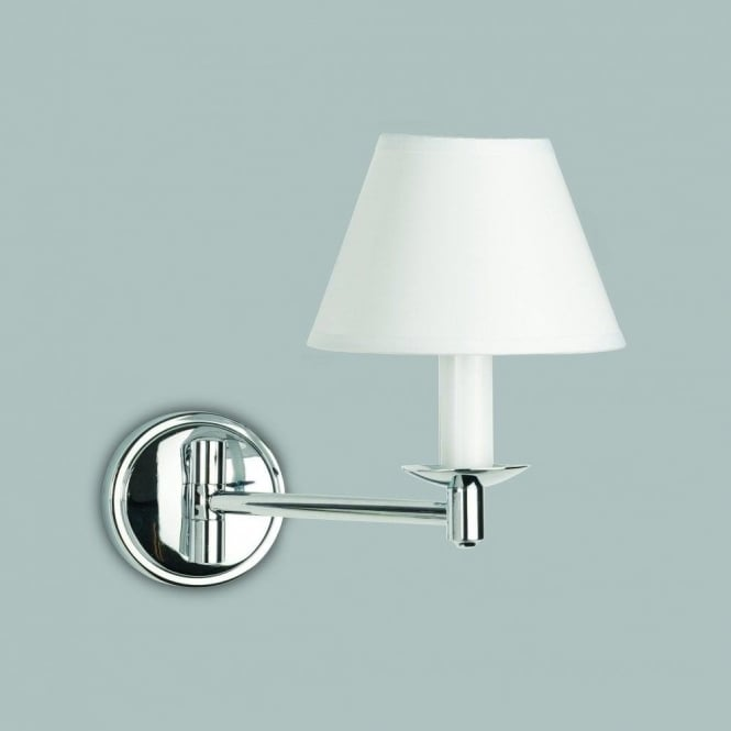 Astro Lighting Grosvenor Single Light Halogen Swing Arm Bathroom Wall Fitting