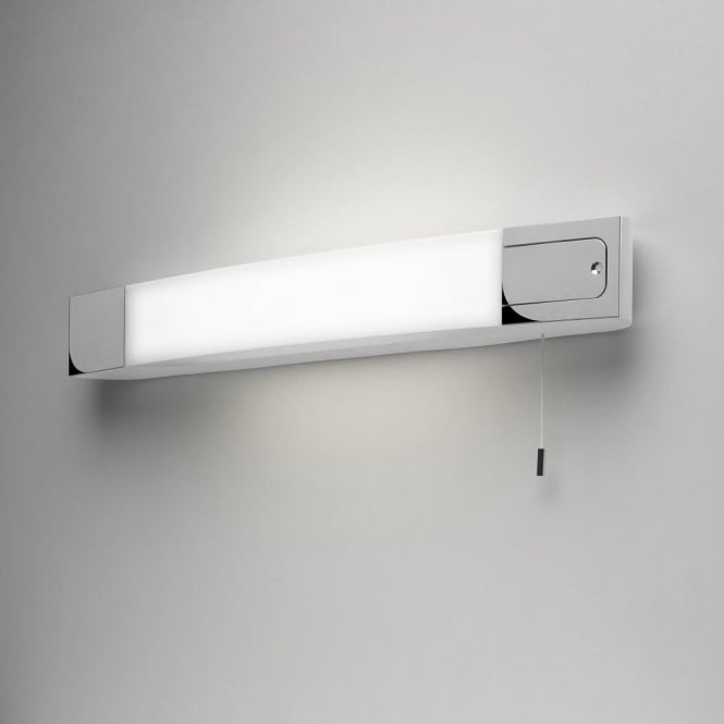 Astro Lighting Ixtra Shaverlight Low Energy Bathroom Wall Fitting With Shaver Socket In Polished Chrome Finish