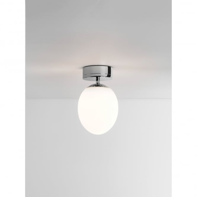 Astro Lighting Kiwi Single Light Bathroom Ceiling Fitting in Polished Chrome