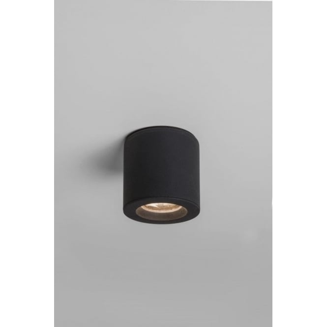 Astro Lighting Kos Single Light LED Ceiling Fitting In Black Finish