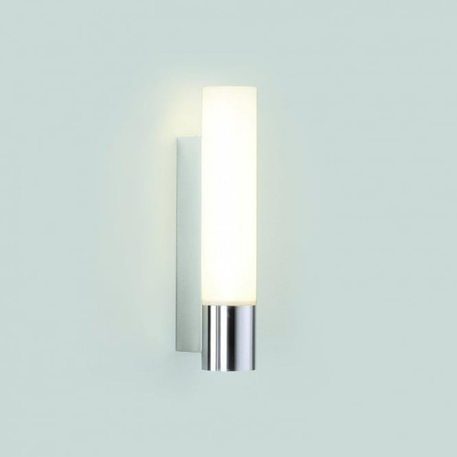 Astro Lighting Kyoto 260 Single Light Low Energy Bathroom Wall Fitting In Polished Chrome Finish
