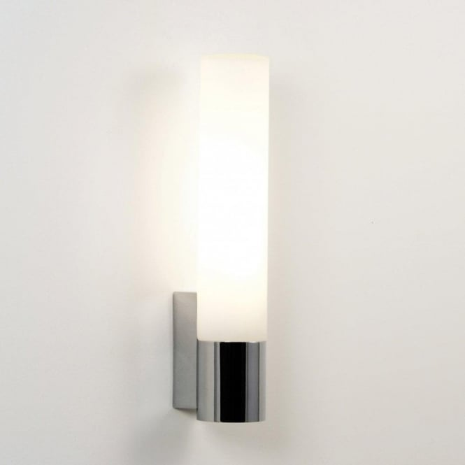 Astro Lighting Kyoto 365 Single Light Low Energy Bathroom Wall Fitting In Polished Chrome Finish