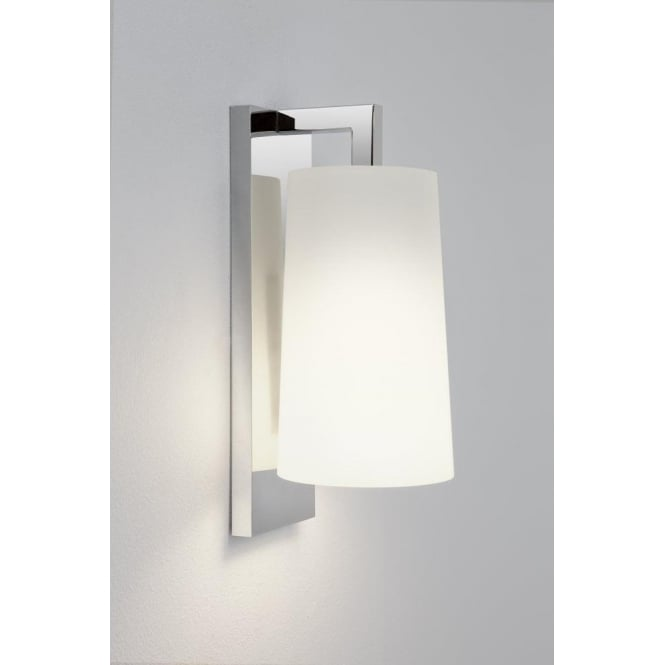 Astro Lighting Lago 280 Single Light Wall Fitting In Polished Chrome Finish