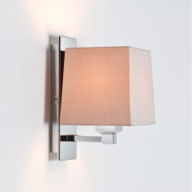 Astro Lighting Lambro 220 Single Light Wall Fitting in Polished Nickel Finish