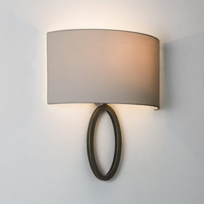 Astro Lighting Lima Single Light Wall Fitting Only In Bronze Finish