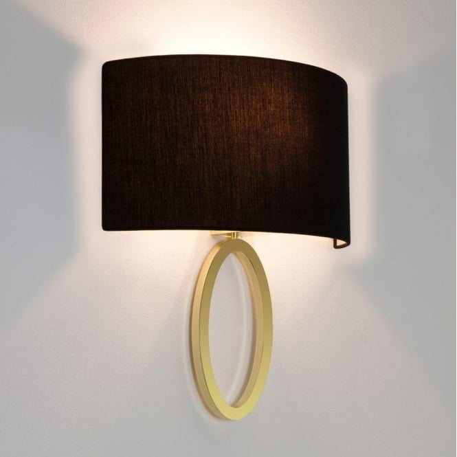 Astro Lighting Lima Single Light Wall Fitting Only In Matt Gold Finish