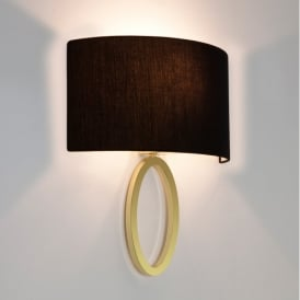 Lima Single Light Wall Fitting Only In Matt Gold Finish