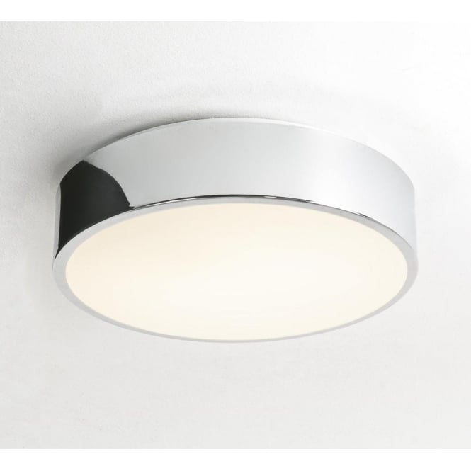 Astro Lighting Mallon Plus Single Light Low Energy Ceiling Fitting In Polished Chrome Finish